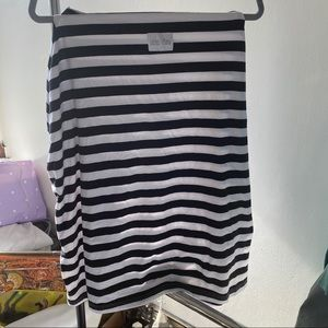 Latched Mama Striped Nursing Cover